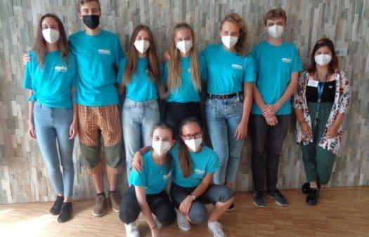 Dobrovolníci v SeniorCentru Klamovka